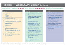 SURGICAL SAFETY CHECKLIST OMS