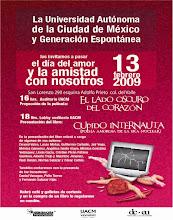 """Febrero 13, 2009     Presentación Antología """"Cupido Internauta"""""""