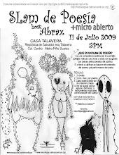 Slam poetry Casa Talavera UACM