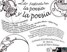 2º Festival de la poesía y la poesía Centro Cultural José Martí Septiembre 5, 2009