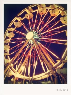 No Ferris wheel for me