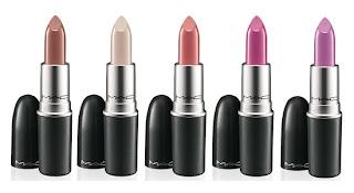 MAC lipstick finishes - texturas de los labiales de MAC - Dreams ...