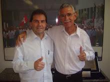 Carlão Motorista  visita o Paulinho da Força (PDT)