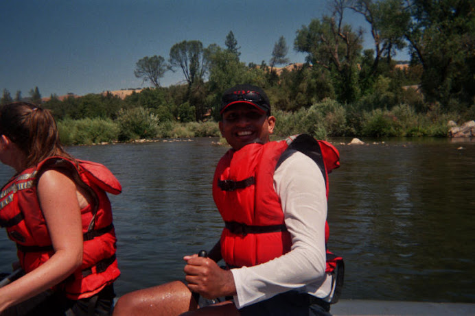 RAFTING IN AMERICAN RIVER
