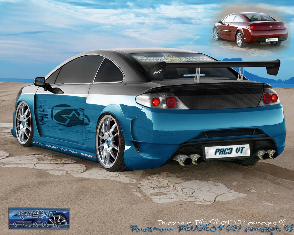 Car Vehicle Peugeot 407 Tuning