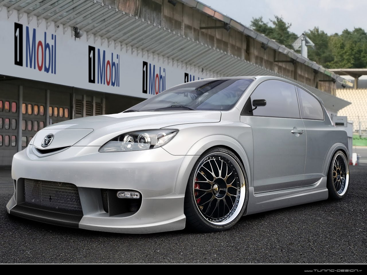 Car Vehicle Mazda 3 Tuning