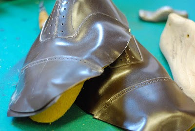 Bespoke shoes at Cleverley: Part 5