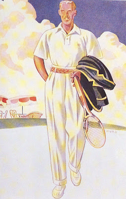 A tennis outfit for the tennis shoes