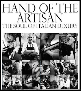 The hand of the artisan
