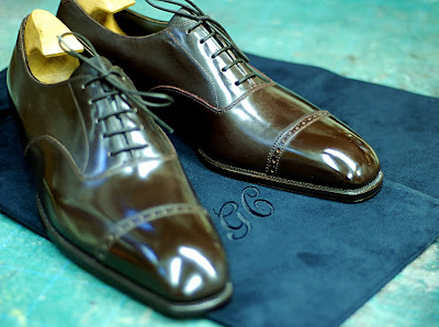 Bespoke shoes at Cleverley: Part 11