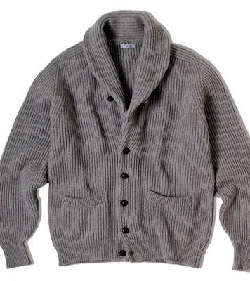 The virtues of a shawl-collar cardigan