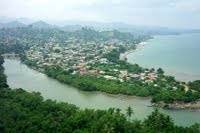 Desenbocadura Rio Yeguada