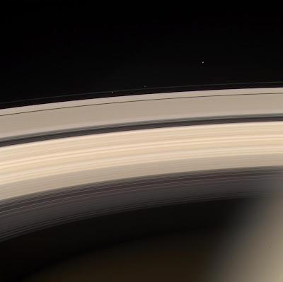 Saturn, Prometheus, Pandora, Janus