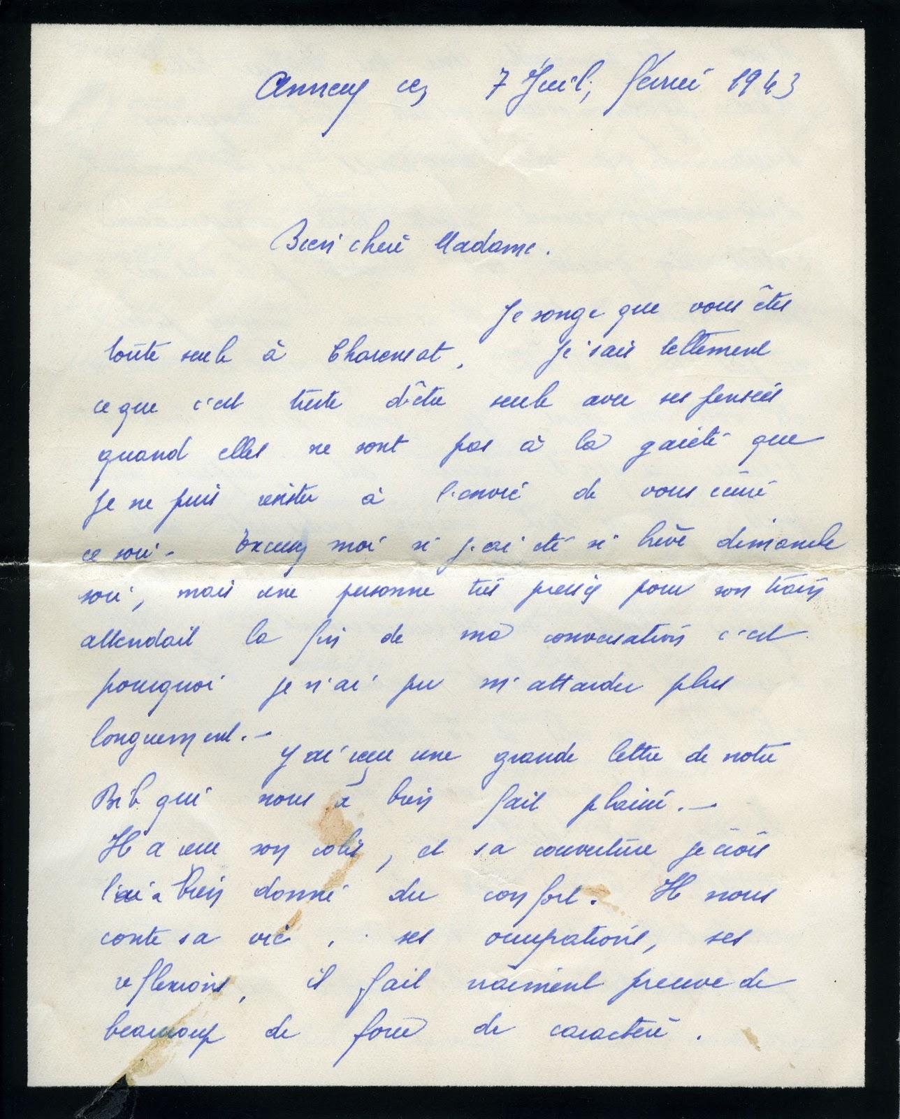 exemple de lettre pour un prisonnier Les chroniques d'André Michel Besse: octobre 2010 exemple de lettre pour un prisonnier
