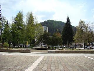 Площада на Мадан и фонтана