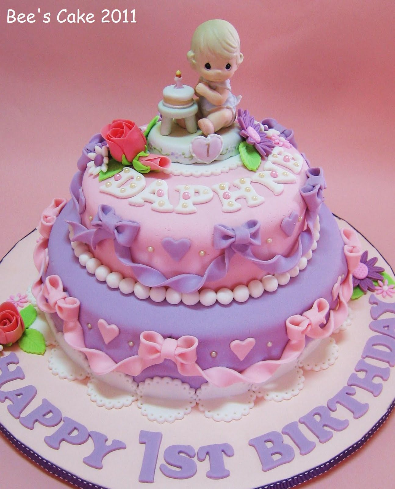 Images Of Baby Birthday Cake : 1000+ images about Birthday Cakes, girls on Pinterest