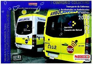 I Convenio Colectivo de Transporte de Enfermos y Accidentados en Ambulancias de Canarias