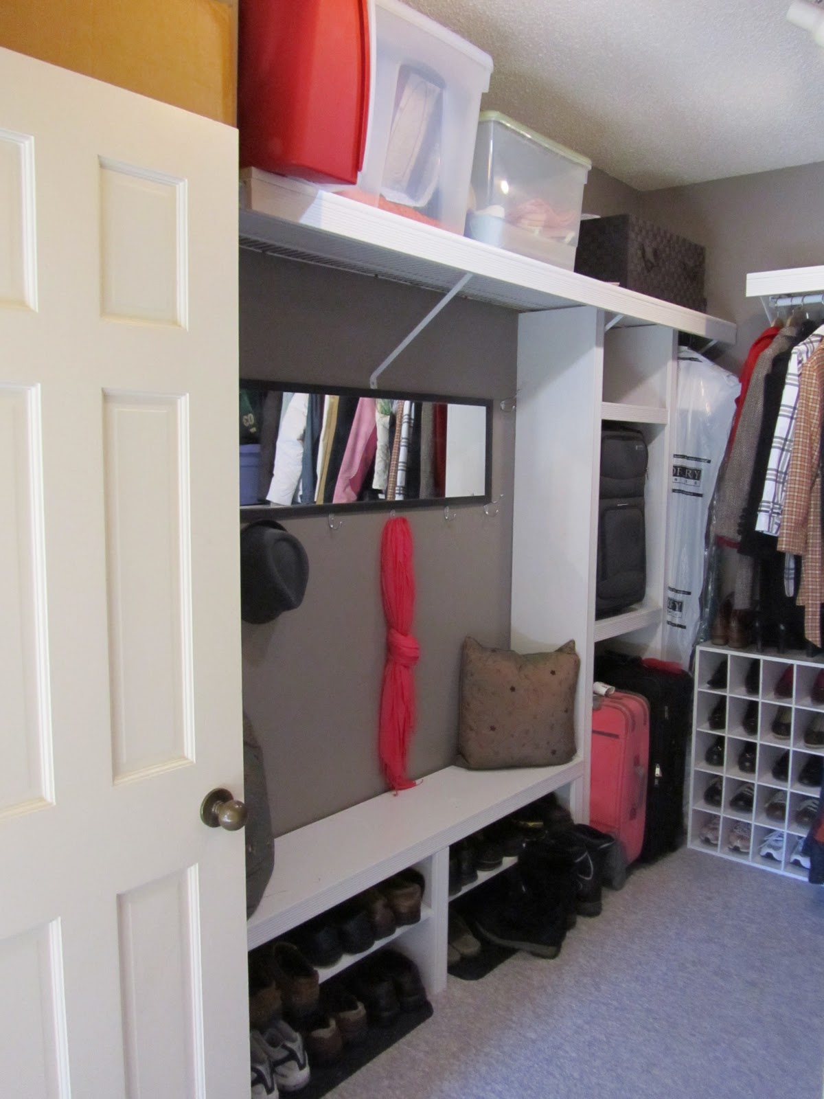 for shelves happy wire new hardware of full photos wardrobe diy with customcycled replace to kits shelving size barn lumber slat closet how wood unfinished ideas the inspiations custom