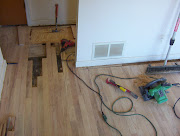 rebuilding sub-floor under hardwood to be re-finished