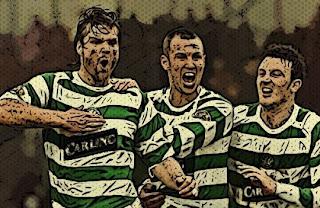 Glasgow Celtic players