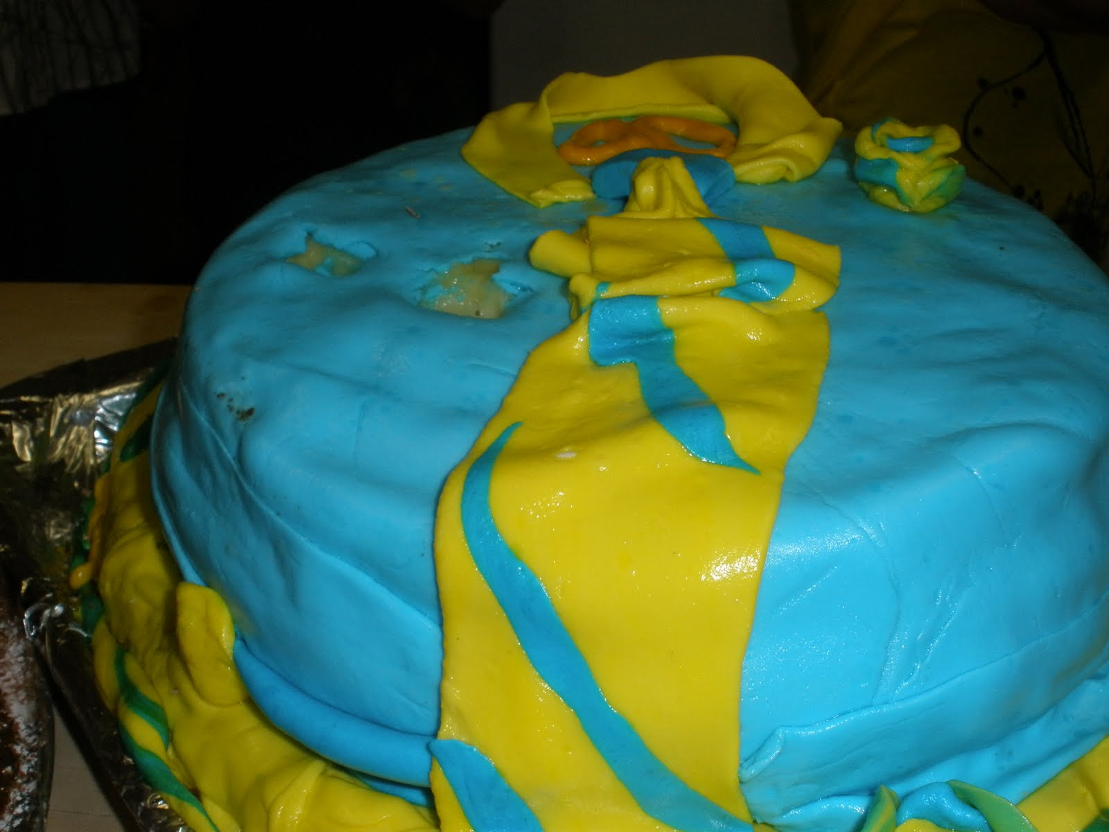 Romana Catering Shirt And Tie Happy Birthday Cake
