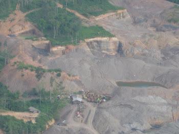 Penambang Liar Batubara di Kalsel