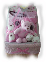 Mini Beetle Basket Gift Set - Pink