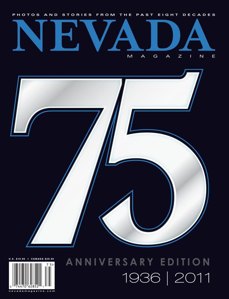 Nevada magazine nevada magazine s 75th anniversary for Anniversary magazine