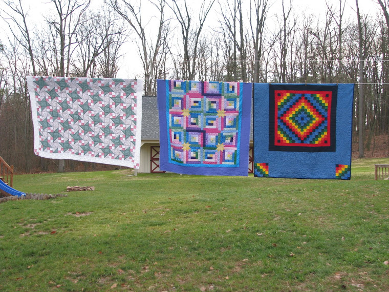Quilts on the washline