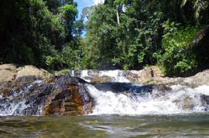 Soak Waterfall Lake Kenyir