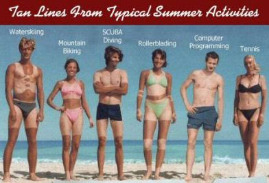 tan lines contest