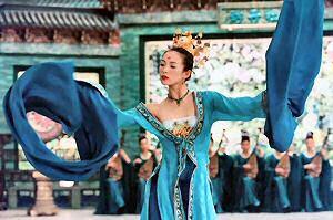 zhang ziyi dancing
