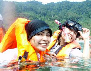 malay swimwear