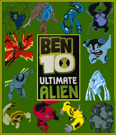 on Ben 10   Supremacia Alien  Gena