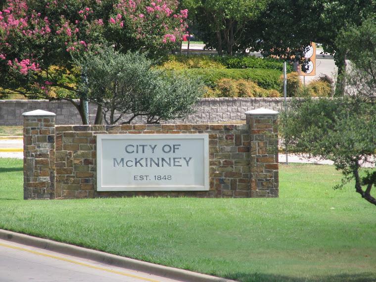 McKinney, Texas Water Tower