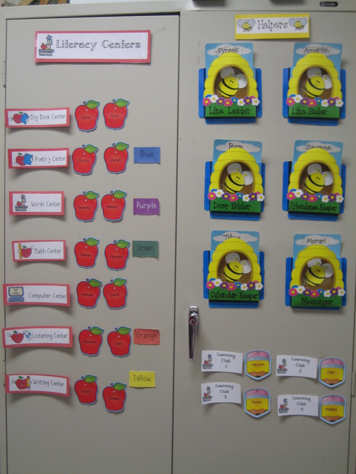 First Grade Classroom Word Wall http://fabulouslyfirstgrade.blogspot.com/2011/01/look-inside-our-classroom.html