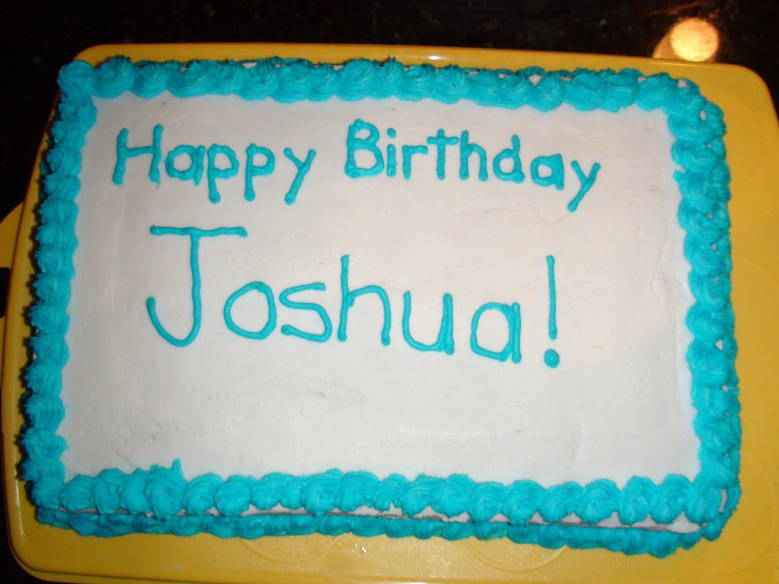 Virginias Cake Space Joshs Birthday Cake