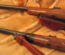Moving the sling swivel from the fore-end to barrel-band makes the rifle traditional and practical.