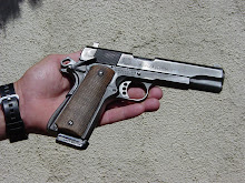 The owner of this well-worn 1911 owes his life to it.