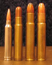 .300 Winchester Magnum, .450 Rigby, .505 Gibbs, .510/505.