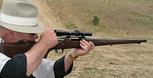 Gary Reeder's custom pre-64 Winchester sported a full Mannlicher stock plus muzzle brake.