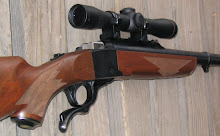 Leupold Scout Scope works well on the No. 1 because it mounts a little more forward