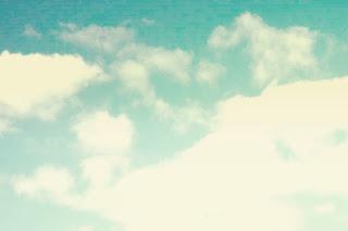 A Skyline Faded Blue