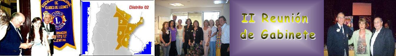 II Reunión de Gabinete
