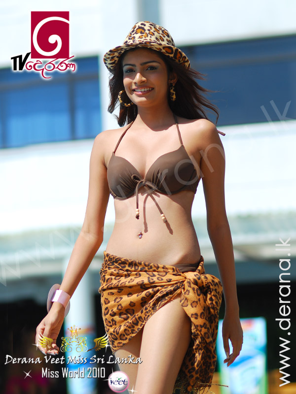 Peiris Sri Lanka Miss Sri Lanka Swimwear 2010