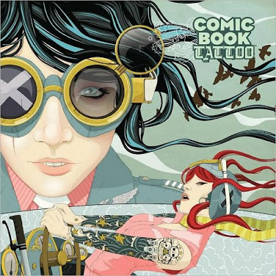 """""""Comic Book Tattoo: Special Edition HC"""" edited by Rantz A. Hoseley and Tori"""