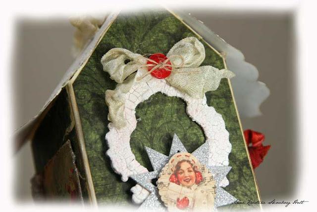Сделайте сами!!! Рождественские домики!!!