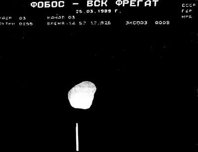 Anomalías En La Superficie De Phobos (Satélite De Marte)