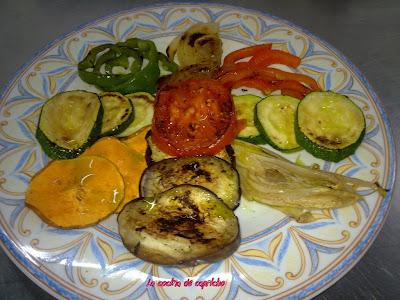 La cocina de capricho parrillada de verduras for Parrillada verduras