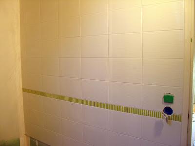 Une maison ossature bois de la sous couche et de la fa ence - Sous couche salle de bain ...